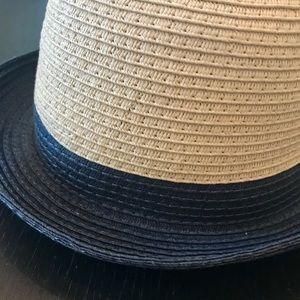 Roxy Straw Fedora hat
